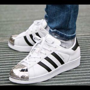 Adidas Superstars With Steel Toe